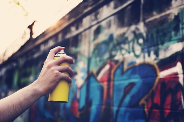 Graffiti vandals face significant penalties in a bid to discourage property damage
