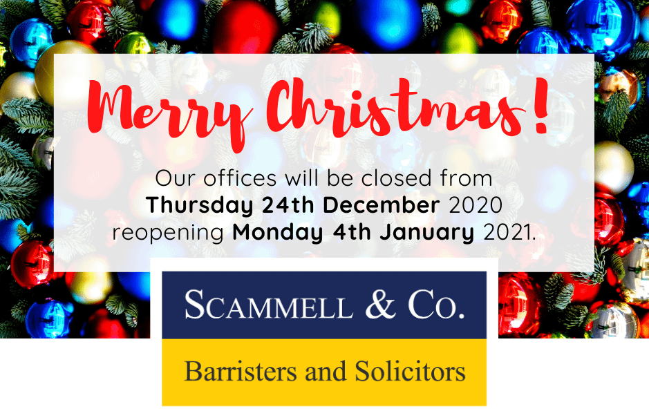Offices to close over the festive season